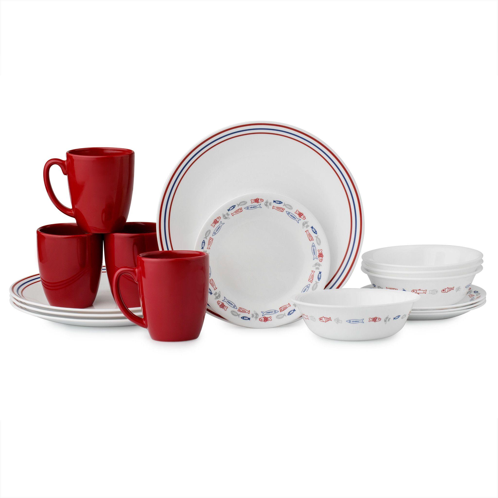 Livingware™ Harbor Town 16-pc Dinnerware Set