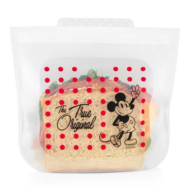 Sandwich Size Silicone Storage Bag: Disney Mickey Mouse