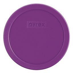 3 Cup Round Plastic Lid, Purple