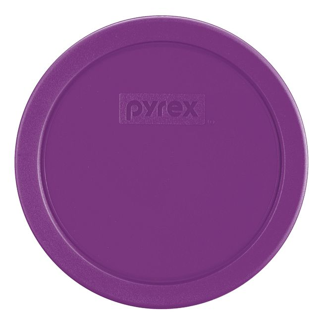 Purple Lid for 3-cup Glass Food Storage Container