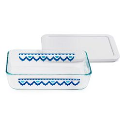 Simply Store® 3 Cup Santorini Rectangle Storage Dish w/ Lid