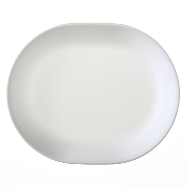 "Winter Frost White 12.25"" Serving Platter"