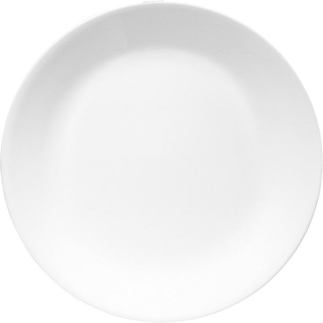 "Winter Frost White 11"" Dinner Plate"