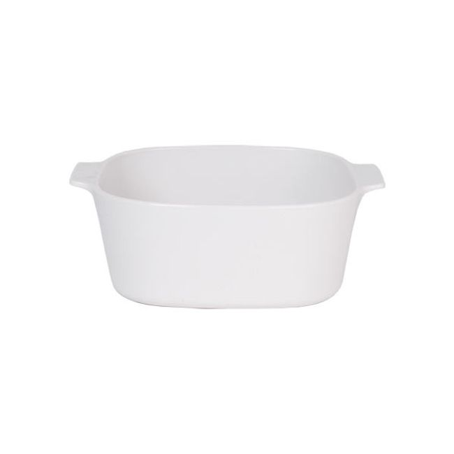 Stovetop Pyroceram Just White 3L Casserole