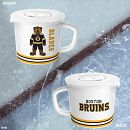 NHL® Boston Bruins® 20-ounce Meal Mug™, Blades™ with Lid