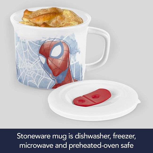 Marvel Spider-man 20-ounce Meal Mug™ with Lid