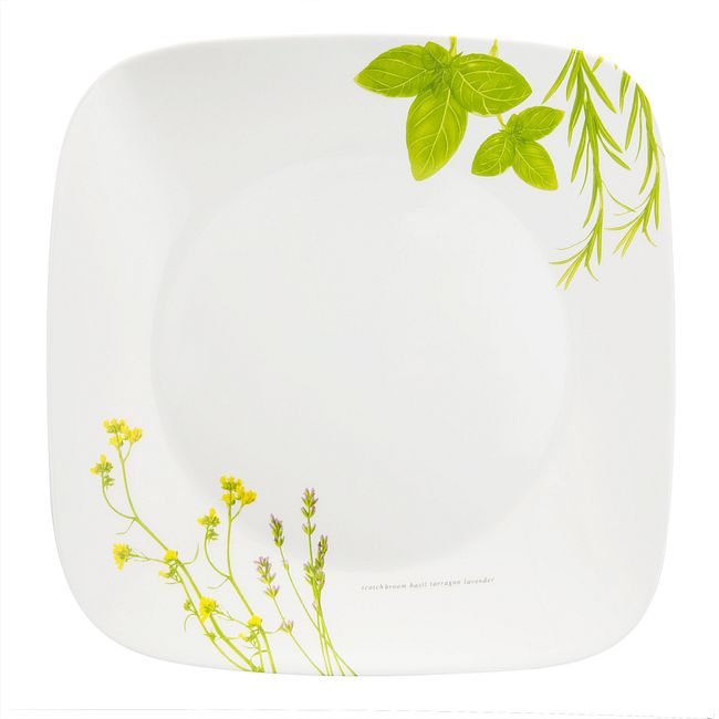 "European Herbs 10.5"" Dinner Plate"