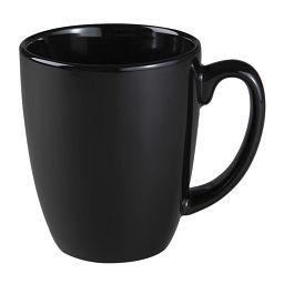Livingware™ 11-oz Stoneware Mug  Black