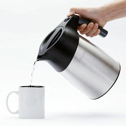 photo of pouring a drink from the Instant Zen Cool Touch Electric Kettle