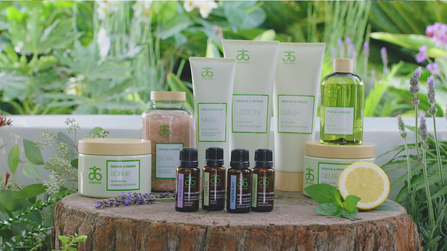 Rescue & Renew Essential Oils Launch Video