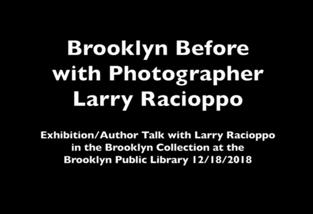 Brooklyn Before: an author talk with photographer...